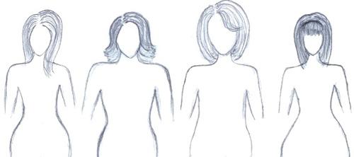 а талия значительно меньше. Этот тип фигуры считается идеальным женским телом. Практически любое платье будет хорошо смотреться на невестах этого типа