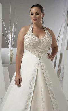 Свадебные платья для полных невест / Свадебные платья