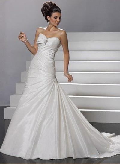 Такие стили свадебных платьев