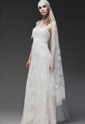 наряд невесты в стиле ретро