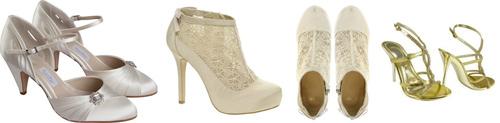 обувь на ретро свадьбу