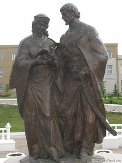 Памятник Петру и Февронии в Ульяновске