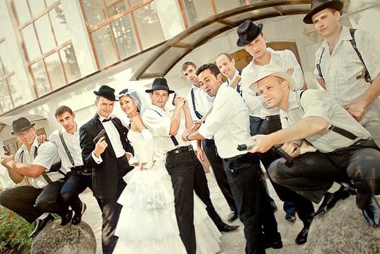 "chikago5 Ретро-стиль: Свадьба в стиле ""Чикаго""."