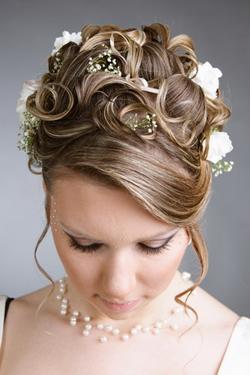 Высокие прически на длинные волосы свадебные фото