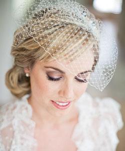 Свадебные прически на средние волосы с фото / Прически, Make up