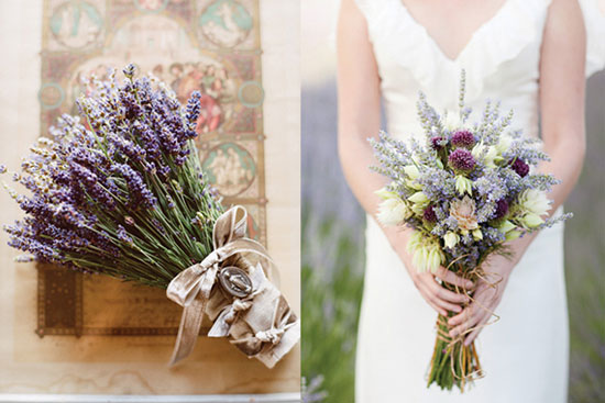 Очень гармонично будет смотреться невеста с букетом из полевых... фото: Букет невесты на свадьбе в стиле прованс...