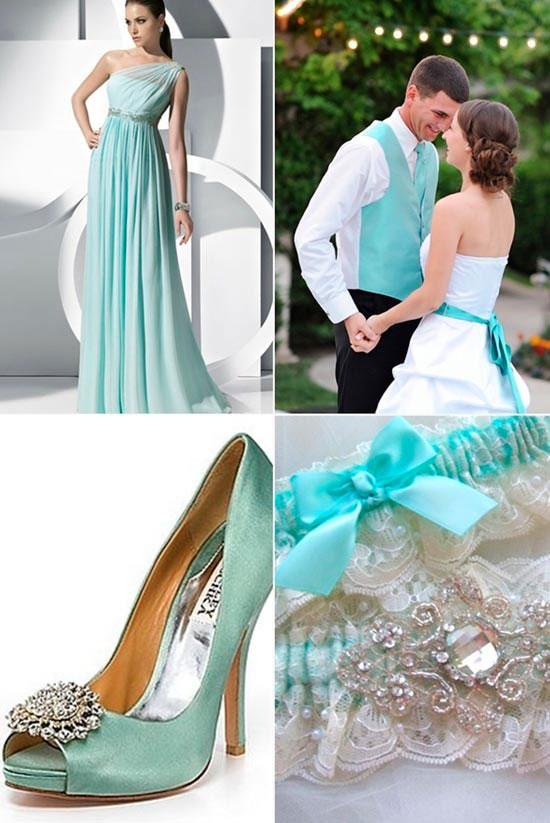"""tiffani-13 Свадьба в стиле """"Тиффани"""": Роскошь, утонченность, изящное сочетание цветов"""