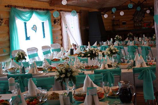 """tiffani-21 Свадьба в стиле """"Тиффани"""": Роскошь, утонченность, изящное сочетание цветов"""