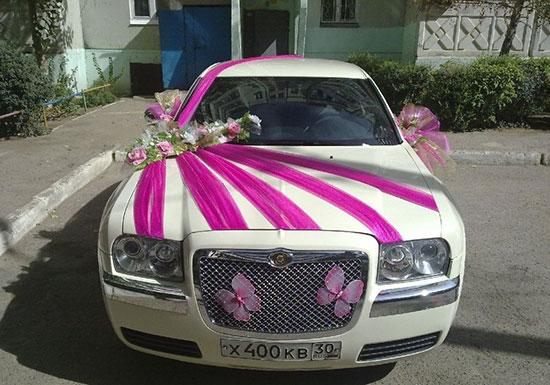 Как украсить машину на свадьбу фото 12