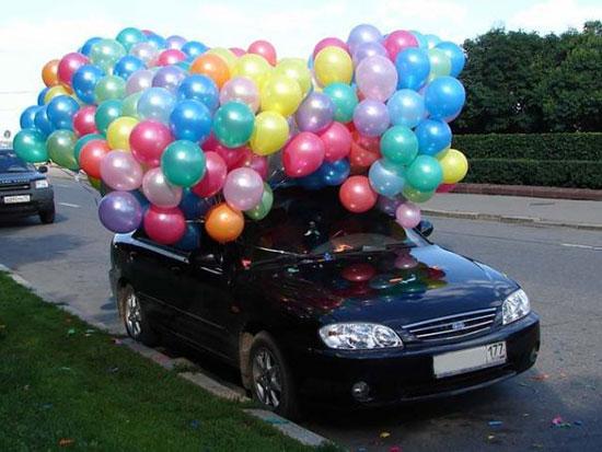 Как украсить машину на свадьбу фото 17