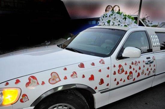 Как украсить машину на свадьбу фото 19