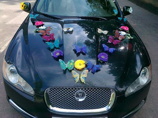 Как украсить машину на свадьбу фото 2