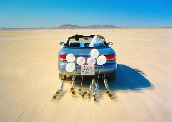 Как украсить машину на свадьбу фото 4