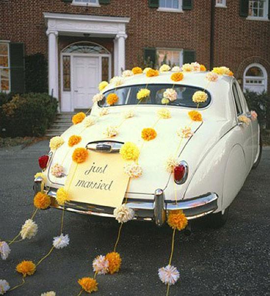 Свадебная машина фото своими руками
