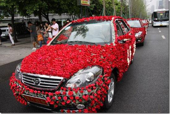 Как украсить машину на свадьбу фото 6
