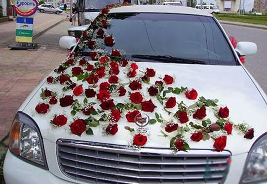 Как украсить машину на свадьбу фото 8