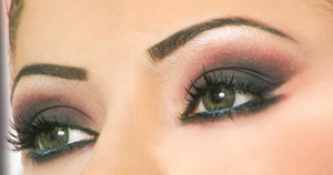 свадебный макияж для зеленых глаз фото 2