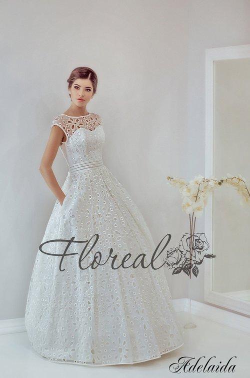 eb3dd2ba68b Adelaida (Floreal) от компании Свадебный салон Невеста 100%. 2892