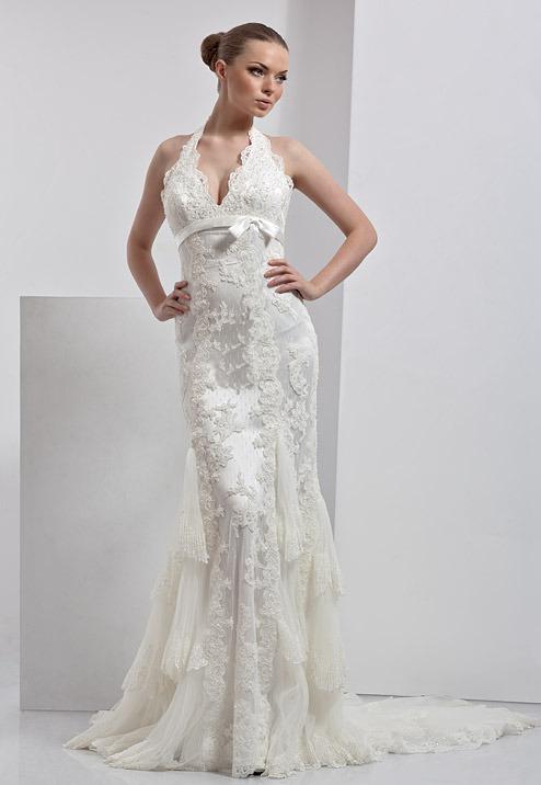 Свадебные платья силуэта русалка