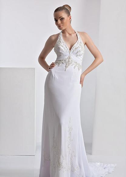 Слышала, что сейчас в моде свадебные платья в греческом стиле.