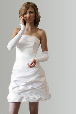 вечернее платье из шелка для полных